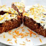 Ciasto mocno czekoladowe z pomarańczą