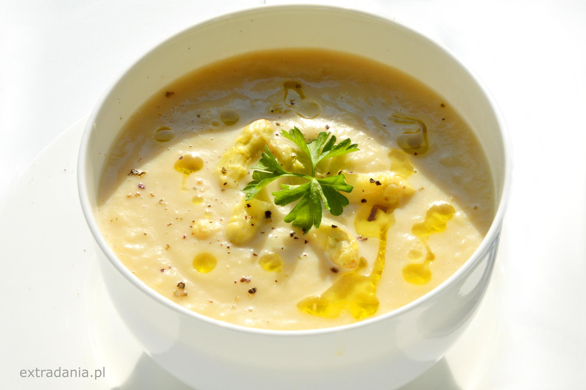 Zupa Krem Z Bialych Szparagow Extradania Pl