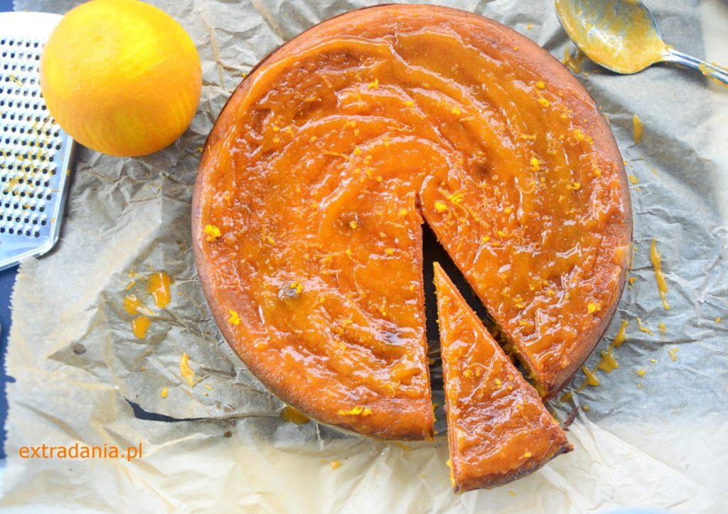 ciasto dyniowe z pomarancza