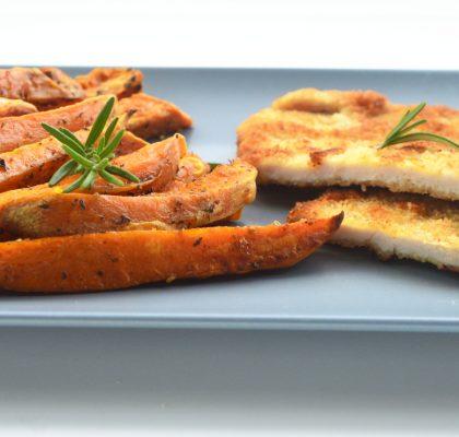 tradycyjny schabowy marynowany w mleku i cebuli