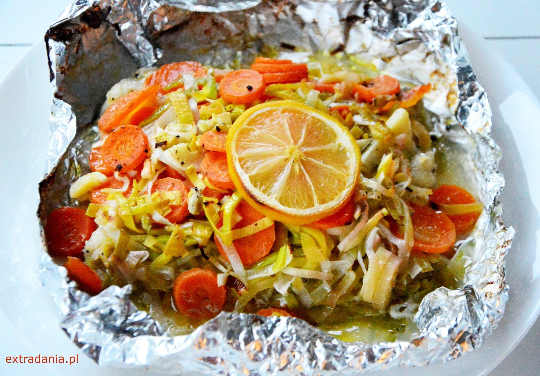 Pieczony Dorsz Z Warzywami Extradania Pl