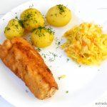 Roladki z kurczaka faszerowane masłem i porą