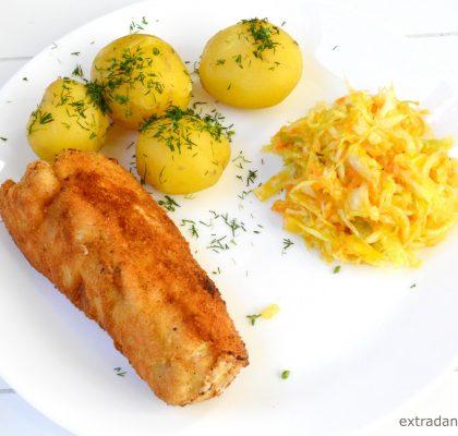 roladki z kurczaka faszerowane maslem i pora