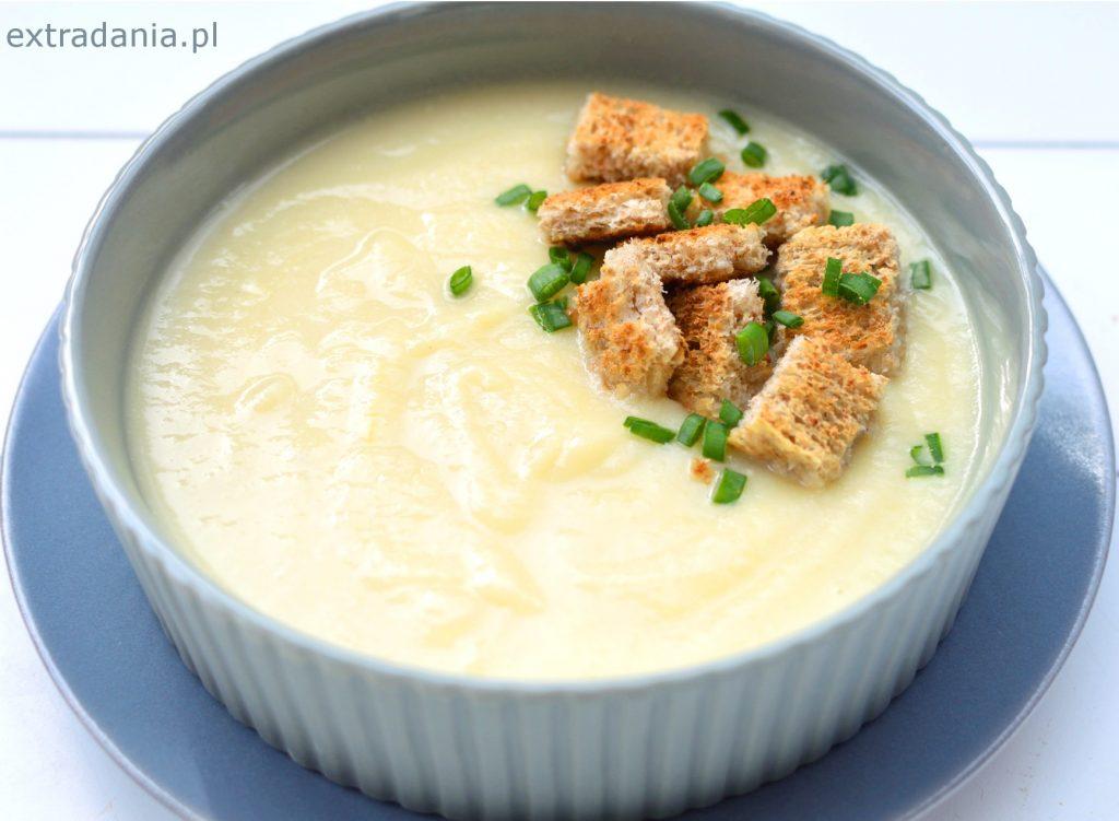 zupa krem z kalafiora i szparagow