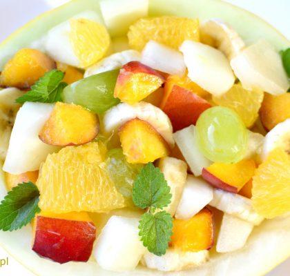 salatka owocowa z melonem