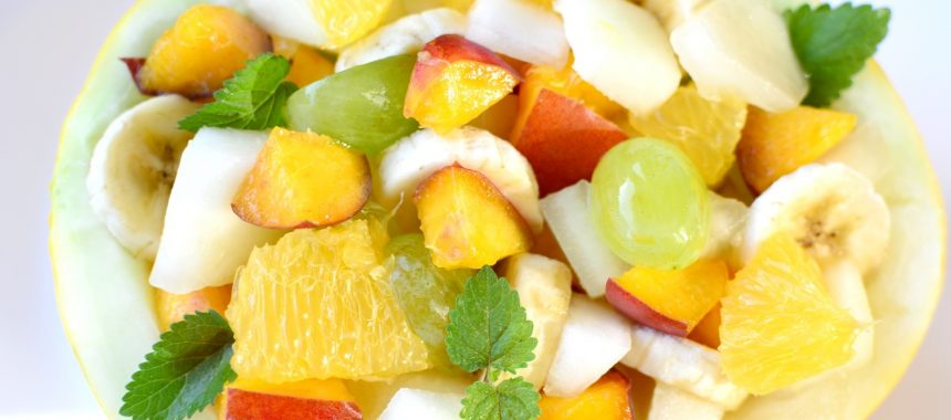 Sałatka owocowa z melonem