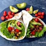 Tortilla z chili con carne