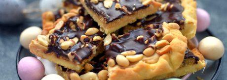 zurek fistaszkowy z czekoladą i solonymi orzeszkami