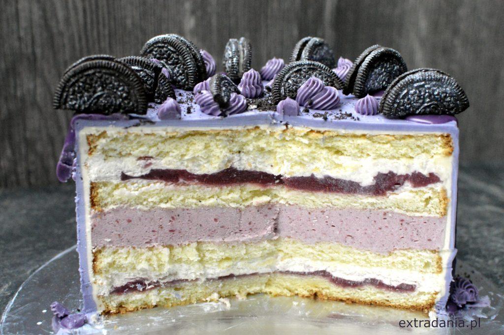 tort truskawkowo-śmietankowy